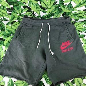 5 for $25 Nike Dark Gray Track & Field Bermudas